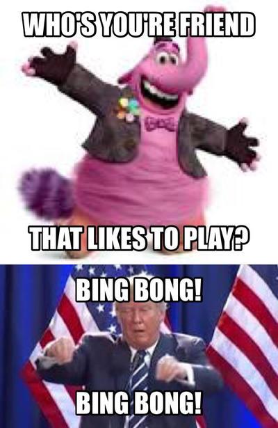 Donald Trump Likes Bing Bong by Miathepirateking on DeviantArt