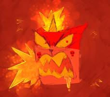 Angry Unikitty by dorito-dude