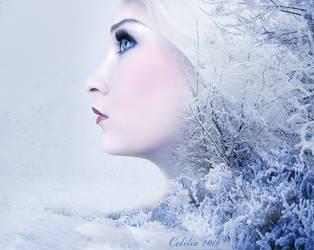 Winter Goddess by CeliliaWonder