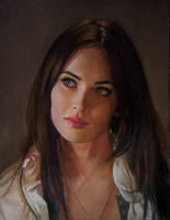 Megan Fox by Lizapoly