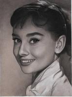Audrey Hepburn by Lizapoly