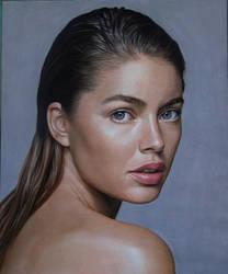 Portrait of Doutzen Kroes
