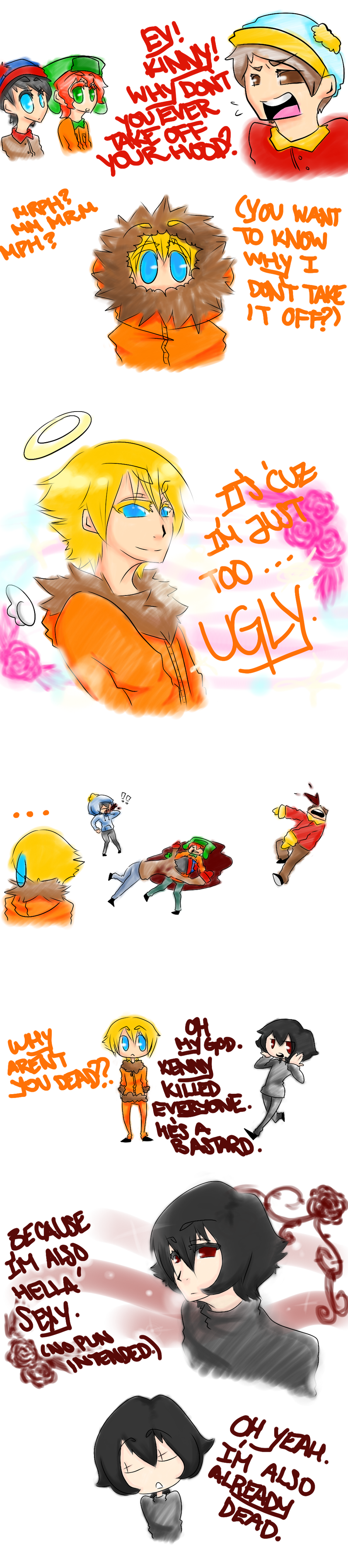Request 2: JUST TOO UGLY... by cinnamelon