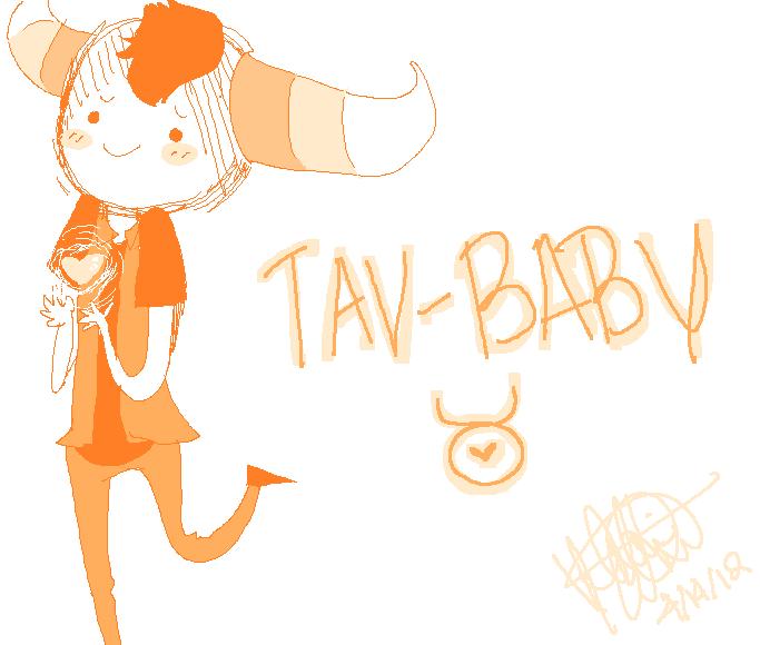 Tav-Baby by cinnamelon