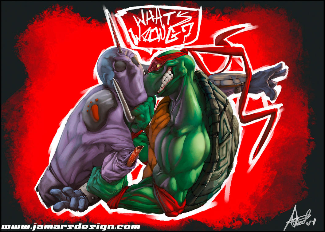 Raphael Ultra Violence by JamarsDesign