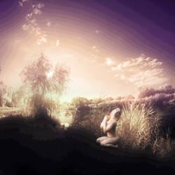 against the morning sun by laszlo-dev