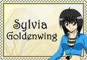 Sylvia Goldenwing Stamp by Jibari-chan