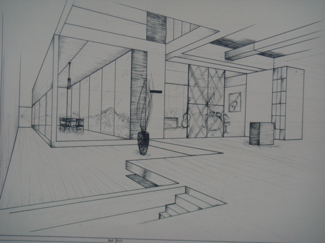 Elegant Two Point Perspective By Jibari Chan ... Part 30
