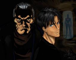 Terry and Batman by Kioi