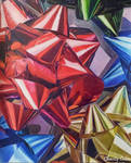 Bows Drawing (Colored Pencil Magazine) by CCChronicles