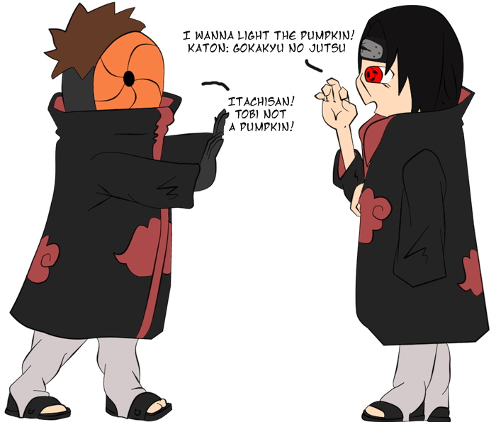 TobiItachi: Lighting Pumpkins by thegeekpit