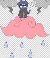 Kisame: Rain Falling Down by thegeekpit