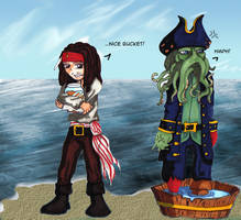 Jack Sparrow - ..Nice Bucket by thegeekpit