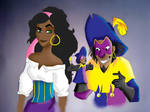 Esme and Clopin