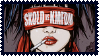 SKOLD vs. KMFDM stamp by ZeroGravityCroquet