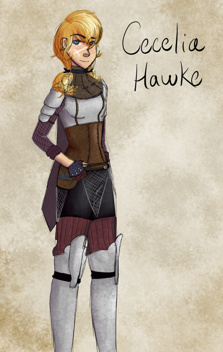 Cecelia Hawke- Champion of Kirkwall by MsRockTheClock