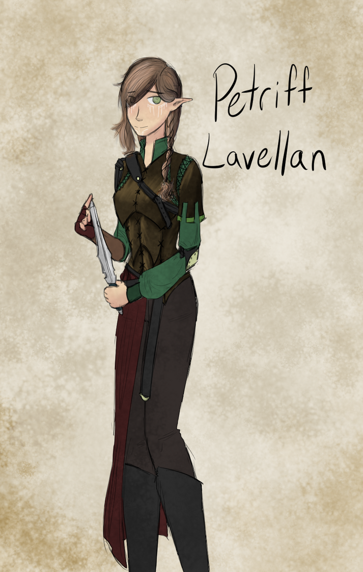 Petriff Lavellan- Inquisitor by MsRockTheClock