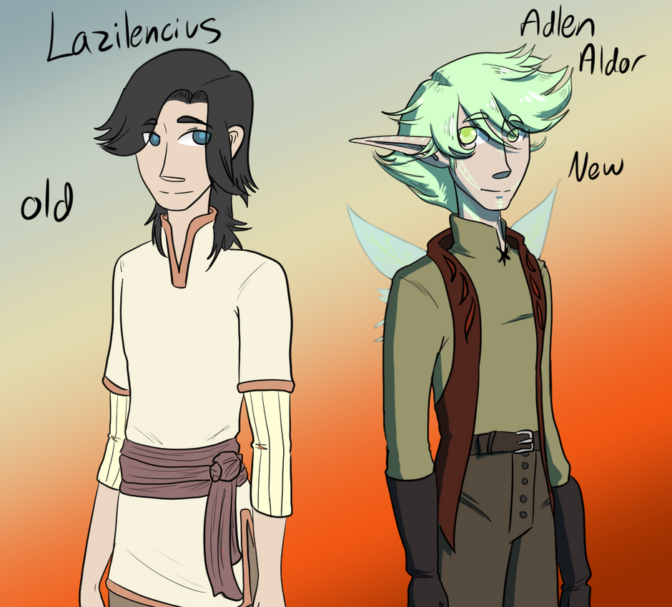Lazi Redesign by MsRockTheClock