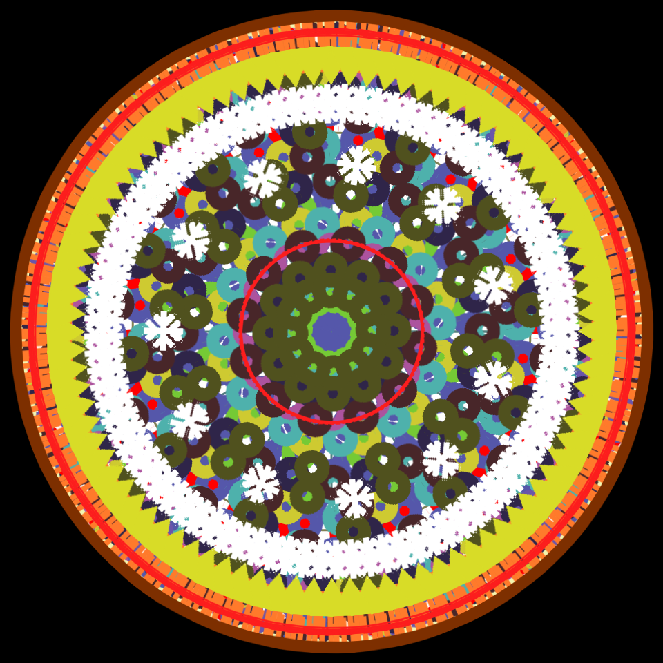 NEW ! version of my online mandala maker (html5) by mCasual