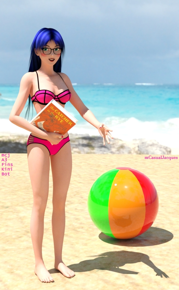 READY, 6th spring thing, bikini bottom for Aiko3 by mCasual