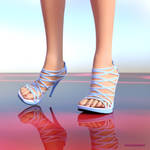 Ready! free strappy shoes props for Aiko3