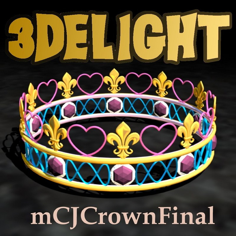 READY! mcjCrownFinal - free crown prop by mCasual