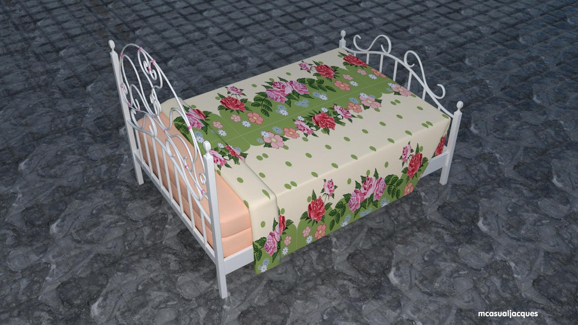Ready ! The Peachy Maid's 2016 Valentines Day Bed by mCasual