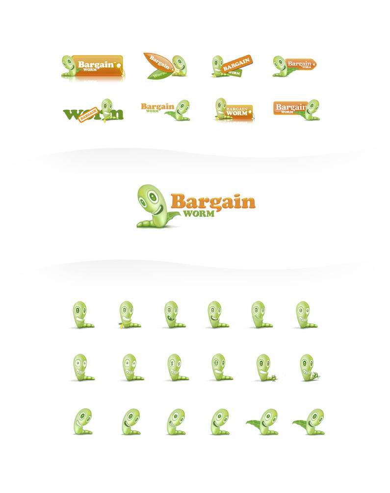 Bargain Worm by kgbstyle