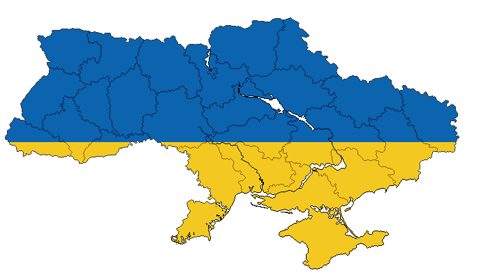 MBAM Republic of Ukraine with Oblasts by ValdoreJavorsky on