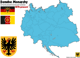[Nightrise] The Danube Monarchy with Flag and CoA