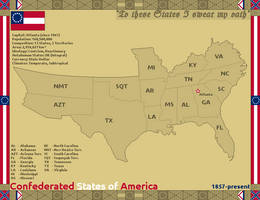 [Nightrise] The Confederated States of America by ValdoreWorks