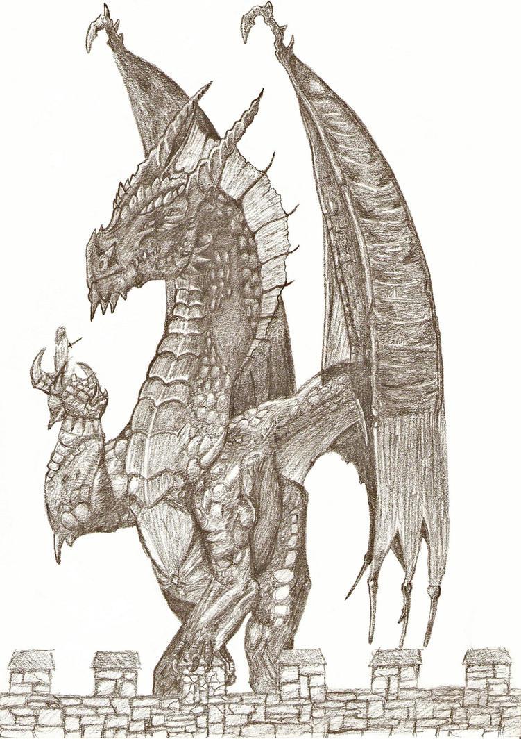Dragon by Nevyn-Pendragon