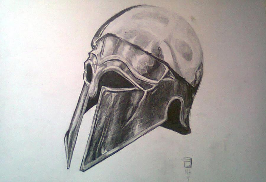 Spartan helmet by MtRaon on DeviantArt