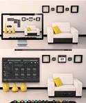 Relax a bit - my current BBLean Desktop