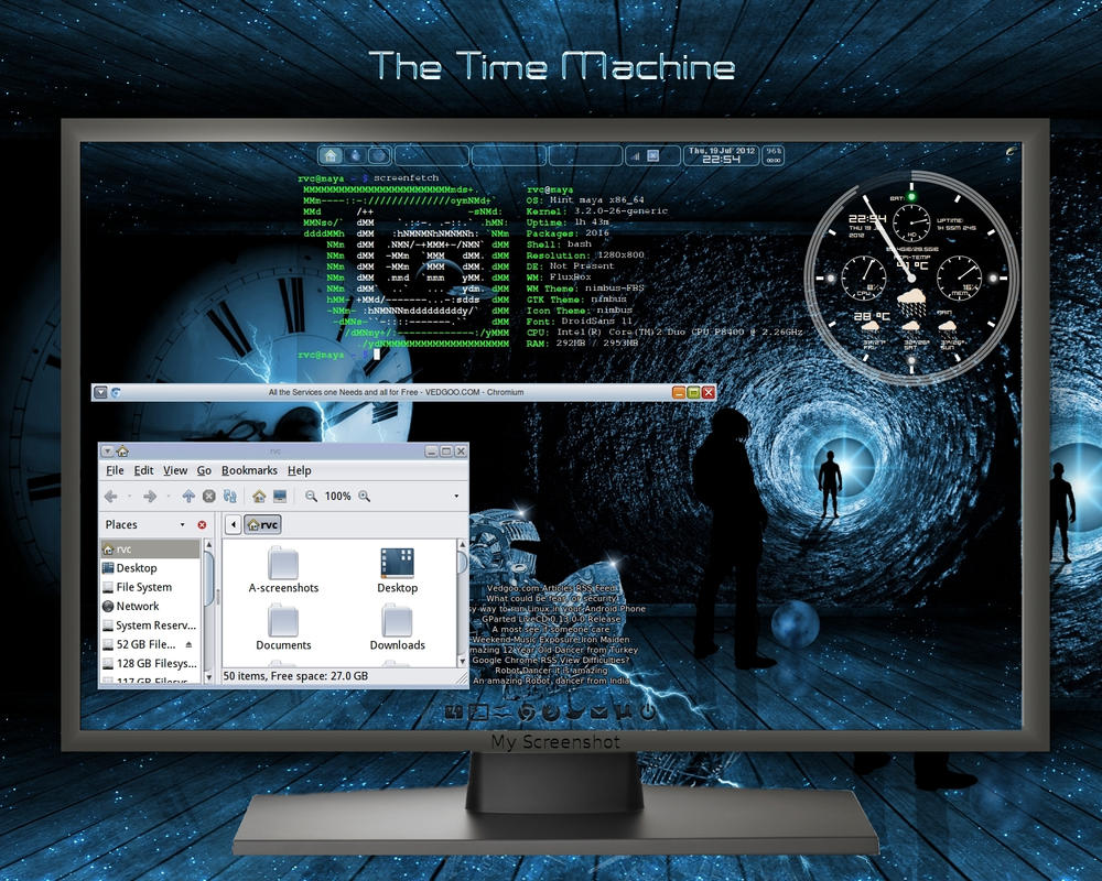 The Time Machine by rvc-2011