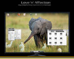 Love 'n' Affection - my e17 desktop on Isotope