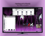 Harlequin's World - My KDE4 desktop on Win7