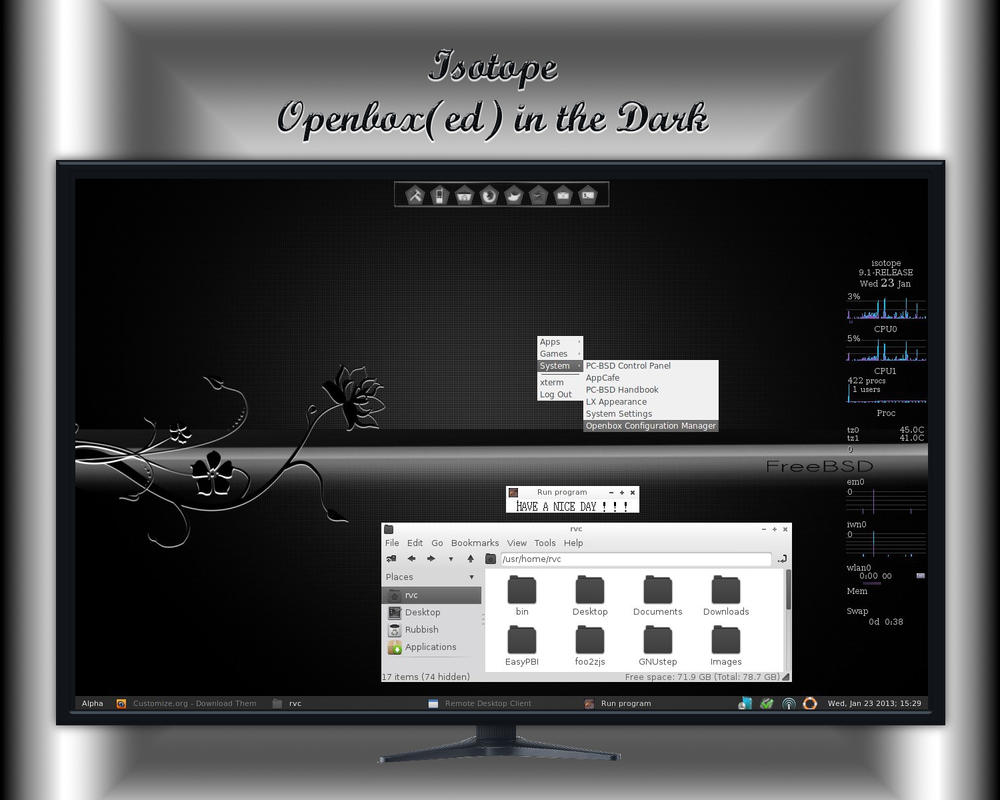 Isotope - Openbox(ed) in the Dark by rvc-2011