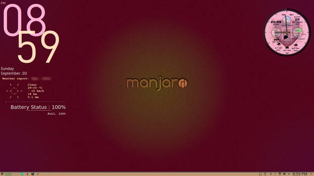 KDE5 on Manjaro -II