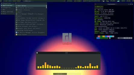 Openbox on Manjaro -I by rvc-2011