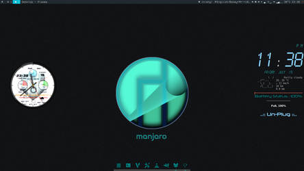 Manjaro Kde July Shot