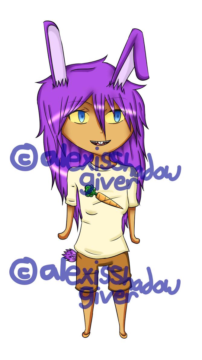 Bunny Demon Custom for xLadyxFrostx's sister by AlexisShadowGiver