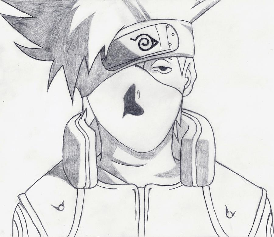 How To Draw Kakashi Sensei