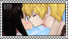 Mad Father Stamp: Dio X Aya Kiss by wow1076