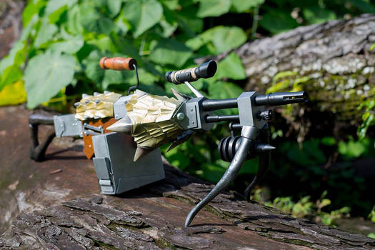 MonHun - Gold Valkyrie Light Bow Gun 2