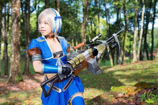 Monster Hunter Frontier - Azul Gunner 4