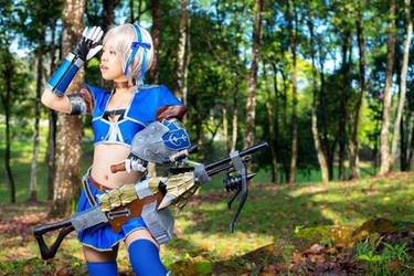 Monster Hunter Frontier - Azul Gunner 5