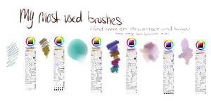 my brushes