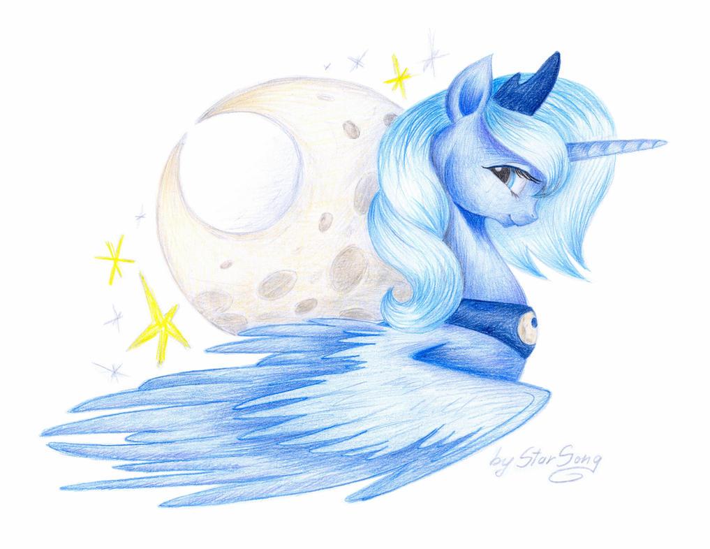 Princess of the Moon by SkyAircobra
