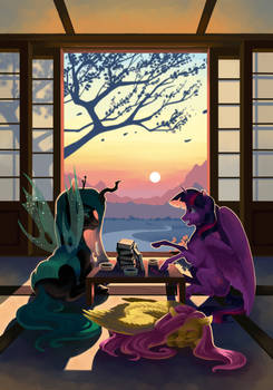 Equestrian Stories 2019 - A warm sunset
